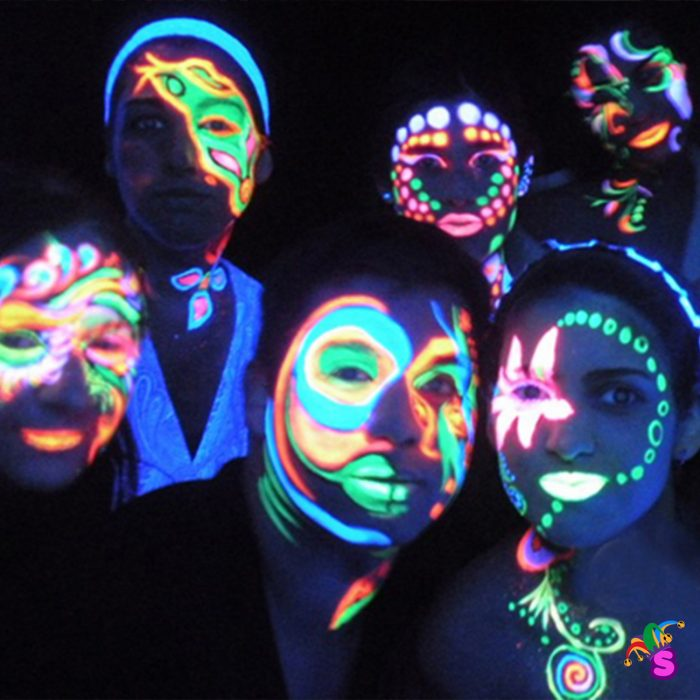 Fiesta fluorescente